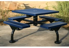 Web Expanded Web Frame Square Picnic Table