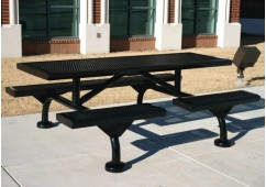 Web Infinity Expanded Web Frame Rectangle Picnic Table