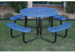 L Portable Frame Circle Picnic Table