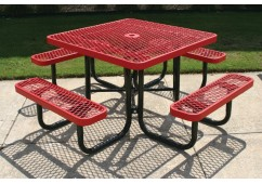 L Portable Frame Square Picnic Table