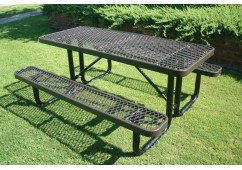 L Portable Frame Rectangle Picnic Table