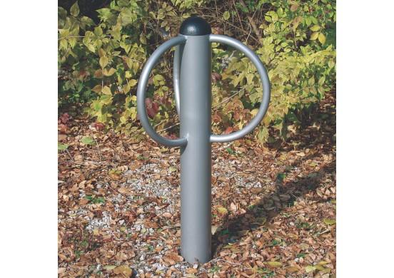 3 Loop Bike Post