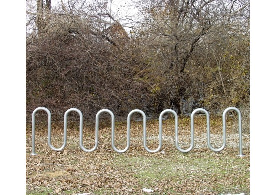 Serpent Style Bike Rack