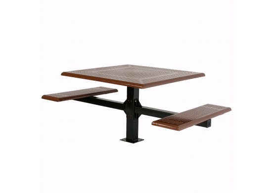 Wheelchair Accessible Square Cantilever Picnic Table