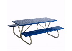Standard Rectangle Bolt Through Frame Picnic Table