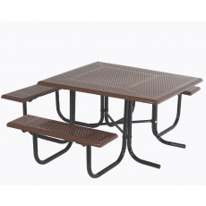 Wheelchair Accessible Square Picnic Table