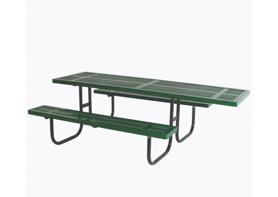 Wheelchair Accessible Rectangle Walk Through Frame Picnic Table