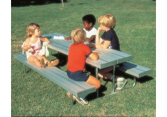 Early Years Standard Rectangular Picnic Table