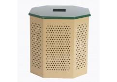 Flat Top Steel Trash Lid for Standard Trash Can