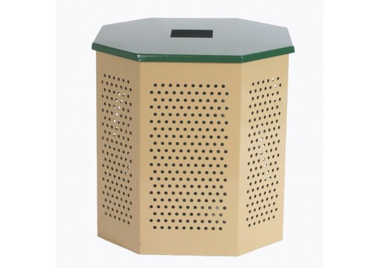 Flat Top Steel Trash Lid for Standard Trash Can