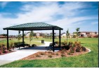 Single Tier Square All-Steel Pavilion