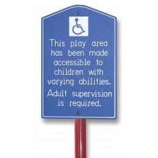 ADA Accessibility Sign