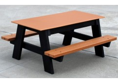 Kids Style Recycled Plastic Picnic Table