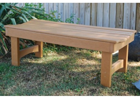 Garden Style Recycled Plastic Bench
