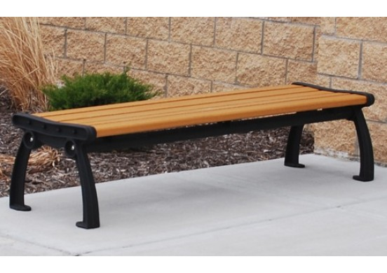 Heritage Backless Style Recycled Plastic Bench