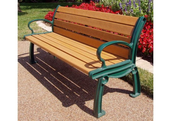 Heritage Style Recycled Plastic Bench