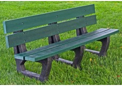 Petrie Style Recycled Plastic Bench