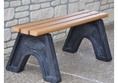 Sport Style Recycled Plastic Bench
