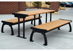 Heritage Style Recycled Plastic Picnic Table