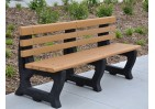 Brooklyn Style Recycled Plastic Bench