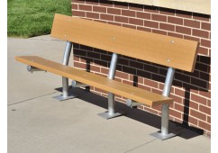 Madison Style Recycled Plastic Bench