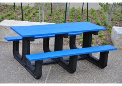 Park Place Style Recycled Plastic Picnic Table