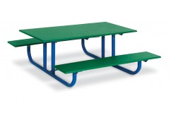 557 4-feet Long Heavy-Duty Preschool Picnic Table