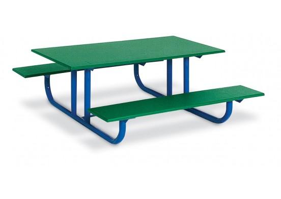 557 4-feet Long Heavy-Duty Preschool Picnic Table