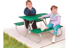 357 3-feet Long Preschool Picnic Table