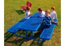 158 Rectangular Preschool Picnic Table