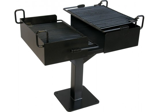 627 Dual Grate Cantilever Grill