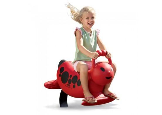 Funky Ladybug Spring Rider