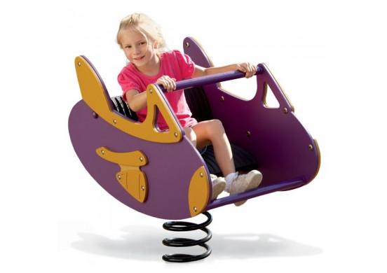 Funky Airplane Spring Rider