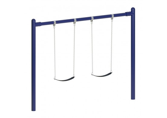 8 feet high Elite Single Post Swing