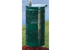 Galvanized Steel Pet Waste Receptacle