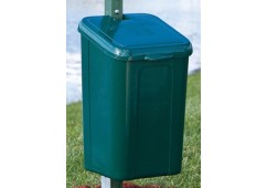 Polyethylene Pet Waste Receptacle