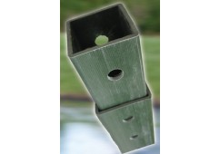 Polyethylene Telescopic Mounting Square Post