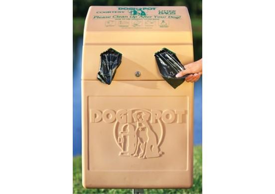 Beige Polyethylene DogValet