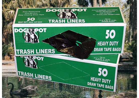 50 Count Liner Trash Bags