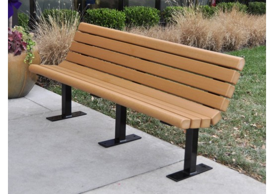 Jameson Style Recycled Plastic Bench