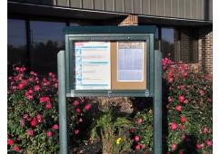 Hinged Medium Message Center