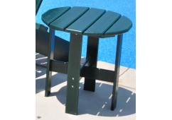 Adirondack Style Recycled Plastic Side Table