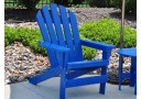 Adirondack Style Recycled Plastic Cape Cod Chair