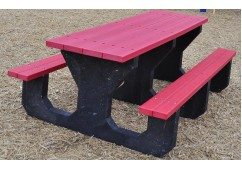 Youth Style Recycled Plastic Picnic Table