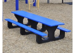 Toddler Style Recycled Plastic Picnic Table