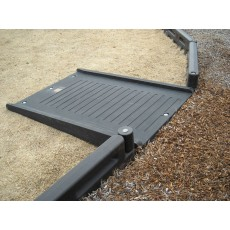 Half Length Wheelchair Ramp for Border 8 or 12 inches high