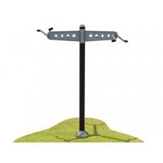 Triple Station Chin-Up Bars