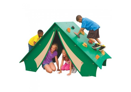 Nature-Theme Pup Tent Climber