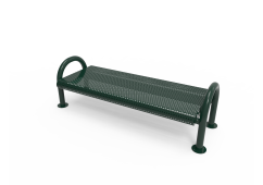 Perforated Steel MOD Bench without Back