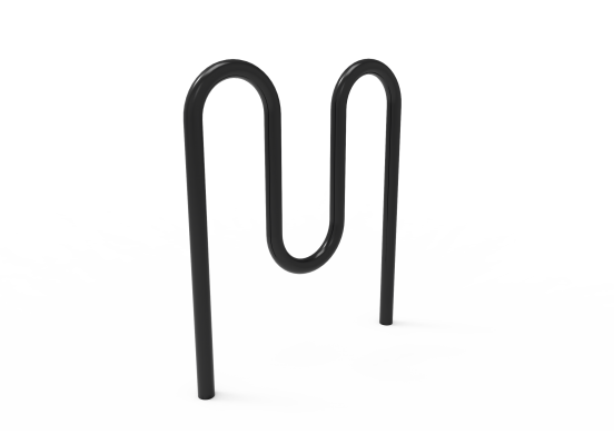 Double Hump Bike Rack for 5 Bikes